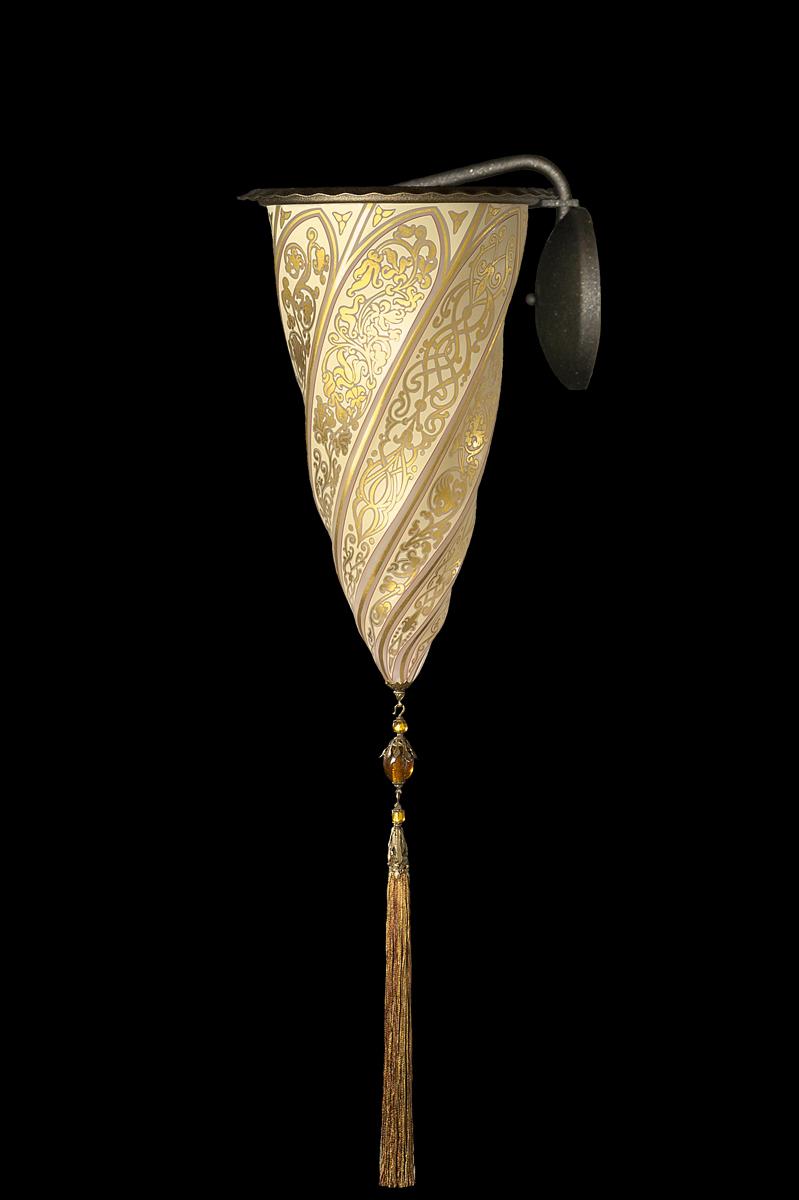 Fortuny Cesendello glass wall applique lamp