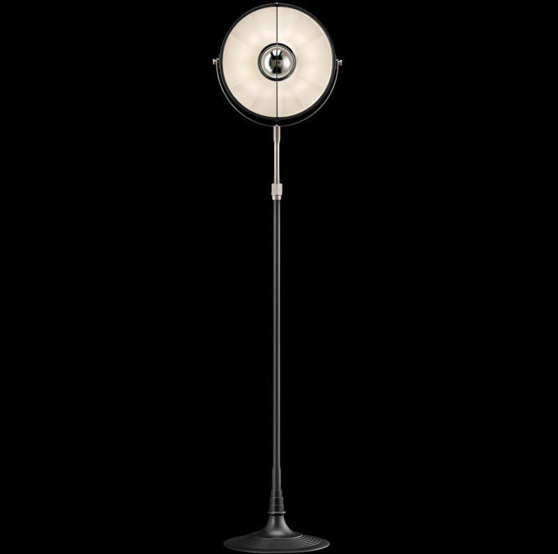 Fortuny lamp Studio 1907 Atelier 32 black and white