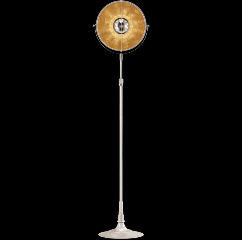 Fortuny lamp Studio 1907 Atelier 32 white and gold
