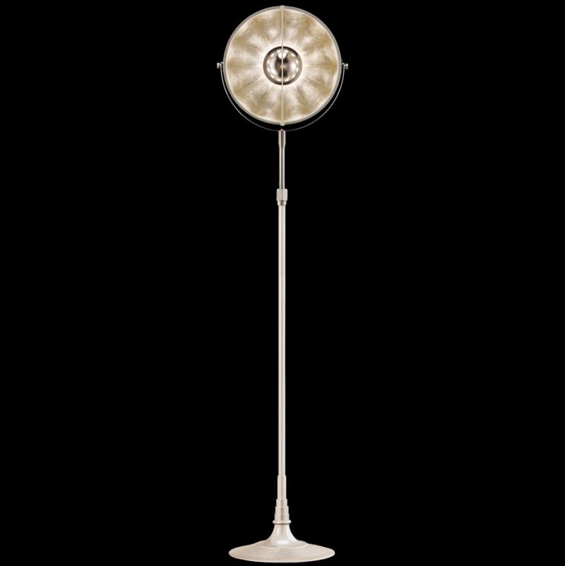 Fortuny lamp Studio 1907 Atelier 32 white and silver